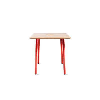 Square Working Table - Set of 10 RAL 1000, 72.5cm