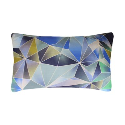 Stained Glass Printed Cushion