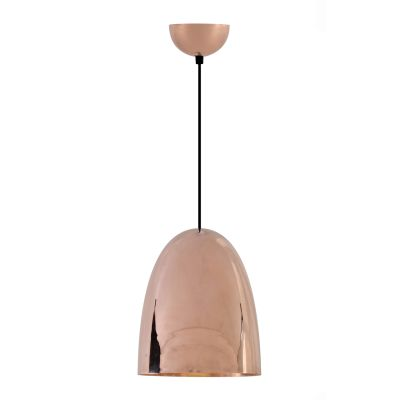 Stanley Pendant Light Hammered Copper, Large