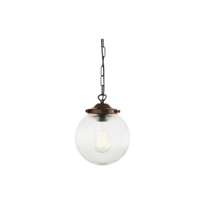 Stanley Pendant Light Antique Brass