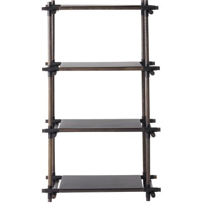 Stick System Shelving, 1x4 Grey