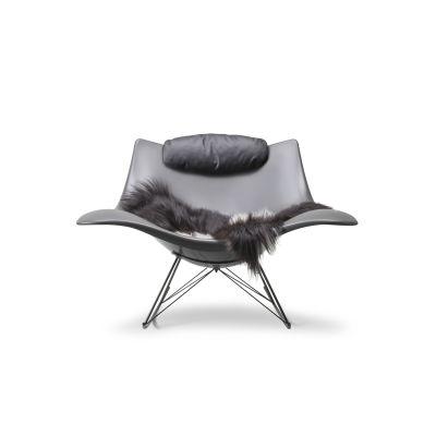 Stingray rocking chair Mat grey, Flint