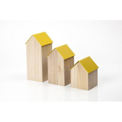 Storage House Small Yellow