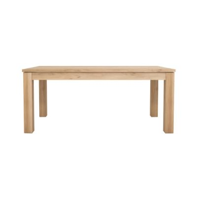 Straight Extendable Dining Table 180 - 280 x 90 x 76 cm