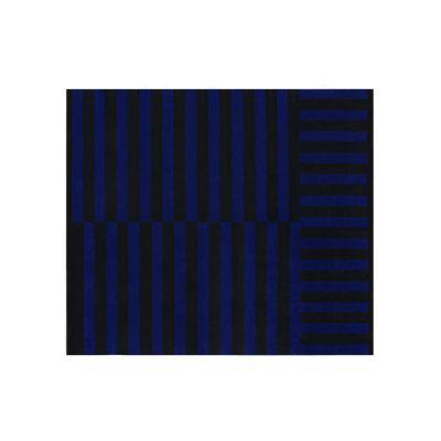 Stripe Large Rug Cobalt