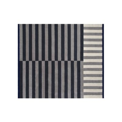Stripe Large Rug Slate