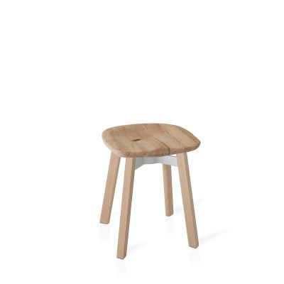 Su Stool Natural Wood, Oak