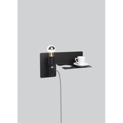 Sunday Wall Light Black