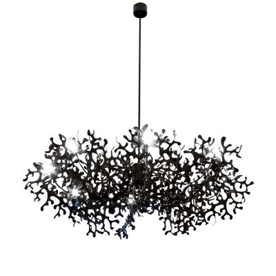 Supercoral 8L Pendant Light 131 Silver Foil
