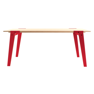 Switch S Large Dining Table Cherry Red