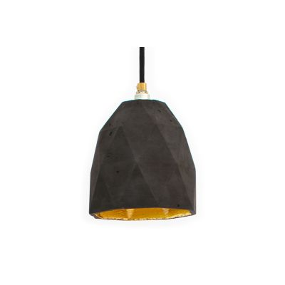 [T1] Pendant Light Dark Grey/Gold
