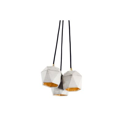 [T2] Bundle Pendant Light Dark Grey/Copper