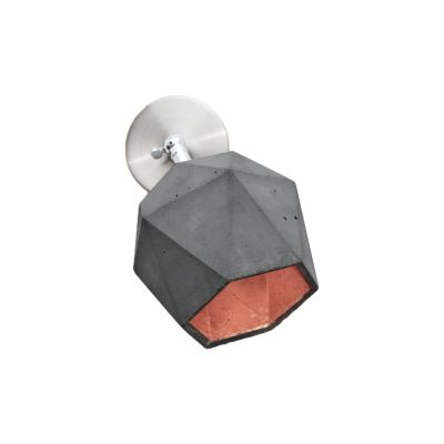 [T2] Wall Light Dark Grey/Copper