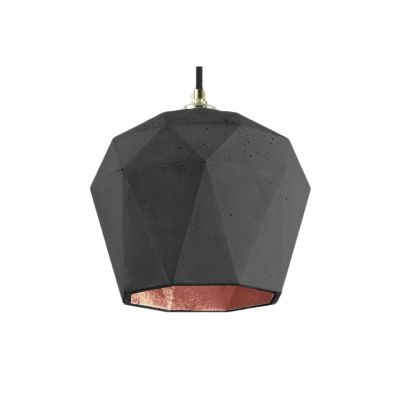 [T3] Pendant Light Dark Grey/Copper