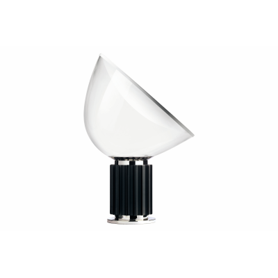 Taccia Table Lamp Black, Glass
