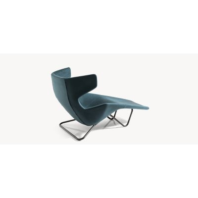 Take a Line for a Walk - Chaise Lounge Steel, Hallingdal 65-674 red - W