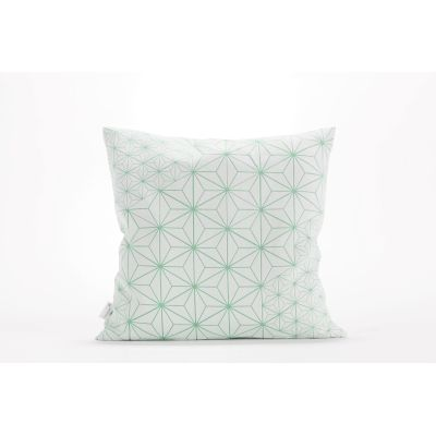 Tamara Cushion Square Cushion Cover Tamara White & Turquoise