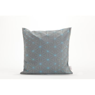 Tamara Cushion Square Cushion Cover Tamara Grey& Blue