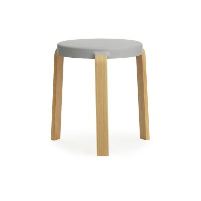 Tap Stool Oak, Grey