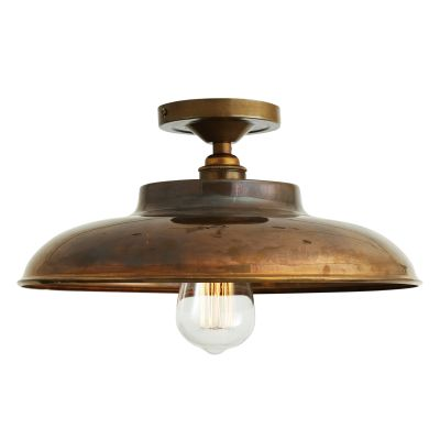 Telal Ceiling Light Satin Brass