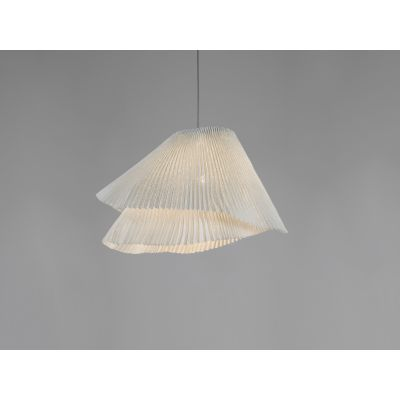 Tempo Vivace Pendant lamp White, Black Cable, No