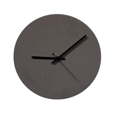 TEMPUS 32 concrete wall clock Anthracite sand