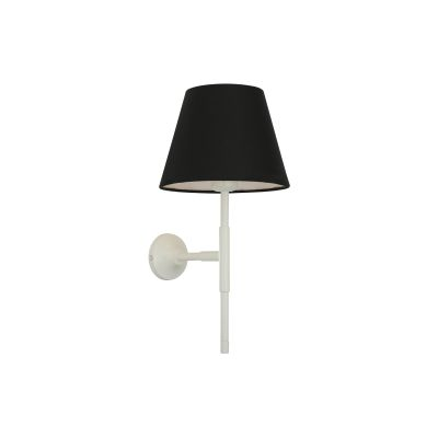 Tenby Wall Light Powder Coated White