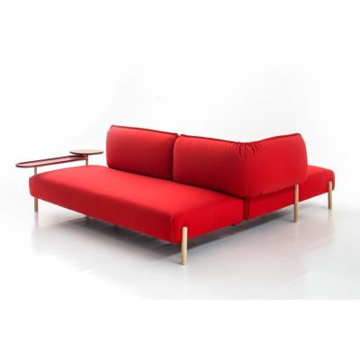 Tender Double Table For Sofa Mud, Ash Natural