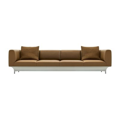 Teo 4 Seater Sofa B0211 - Leather Oil cirè