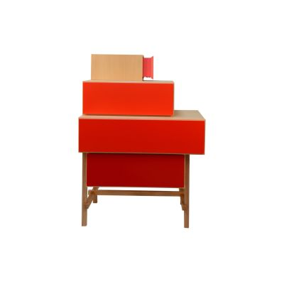 Terrazza Chest of Drawers Red