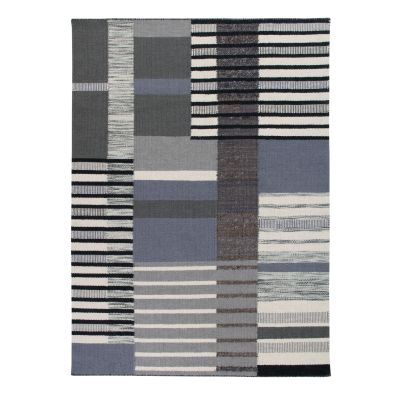 The City: Contemporary Handwoven Wool & Jute Rug The City: Contemporary Handwoven Wool & Jute Rug