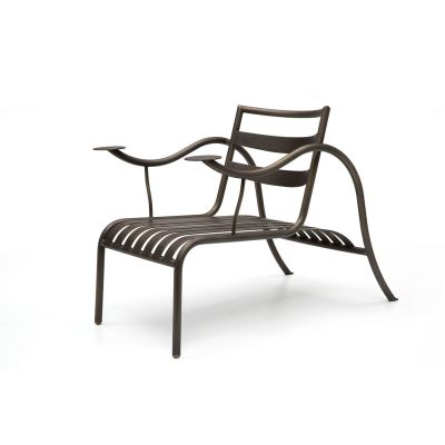 Thinking Man's Armchair 427 lacquer gypsum white