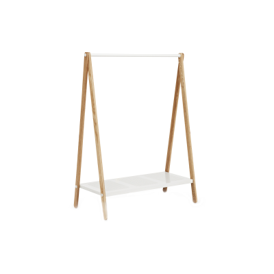 Toj Clothes Rack White, Large