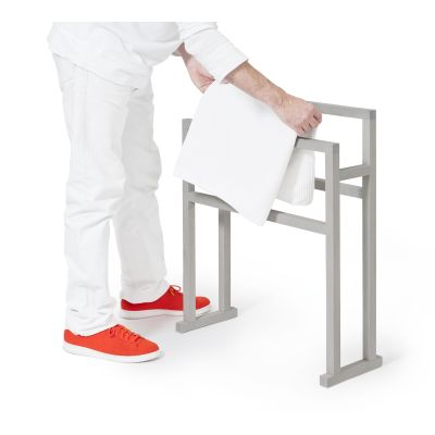 Towel rail Mezza Grande Oyster White