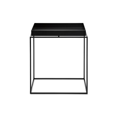 Tray Square Side Table Black, Medium