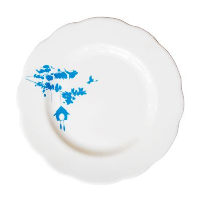 Tree Branch Tea Plate