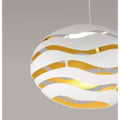 Tree Series Pendant Light S75, Black-Gold, Halo