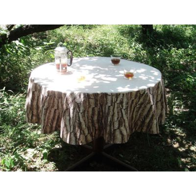 Treestamp Tablecloth For 105cm in Diameter Table