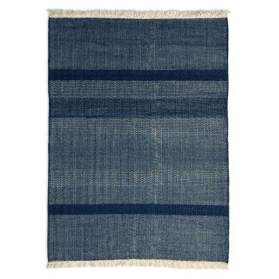 Tres Texture Rug Blue, 170 x 240 cm