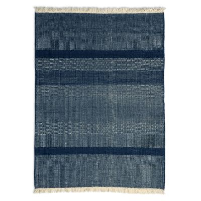 Tres Texture Rug Blue