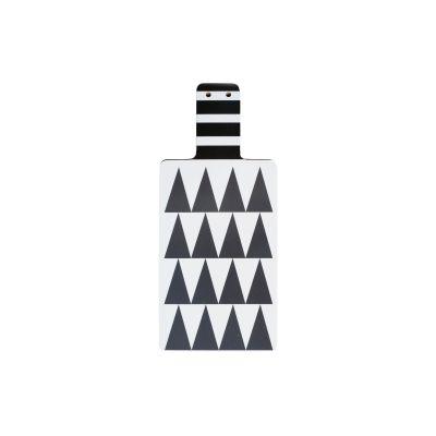 Triangles Cutting Board Grey