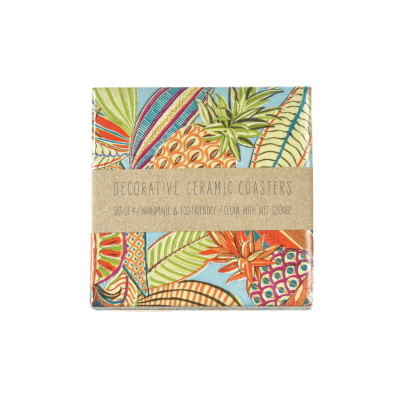 Tropical Fruit Coasters