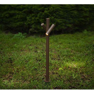 Tube Outdoor Lamp 180, 2, Corten