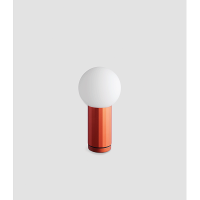 Turn On Table Lamp Orange