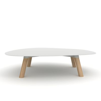 Turtle Table Large Light Grey