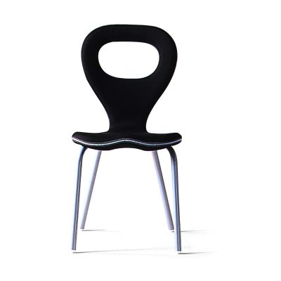 Tv-Chair Medium Titanium, Stamskin Top 4340-07478 - Q, White