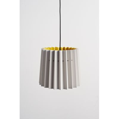 Twin Tone Lampshade French Grey & Mr David