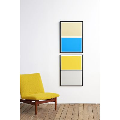 Twin Tone Play Screen Prints - Set of 2 - Justin's Pick With Frame