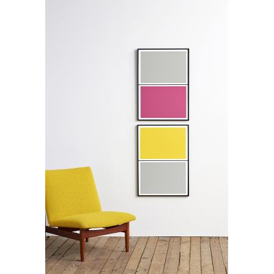 Twin Tone Play Screen Prints - Set of 2 - Rachel's Pick With Frame