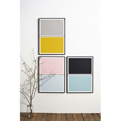 Twin Tone Play Screen Prints - Set of 3 - Sarah's Pick With Frame